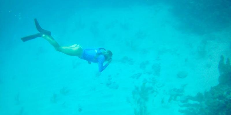 free diving Bimini