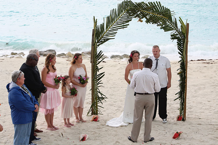 Bimini Wedding
